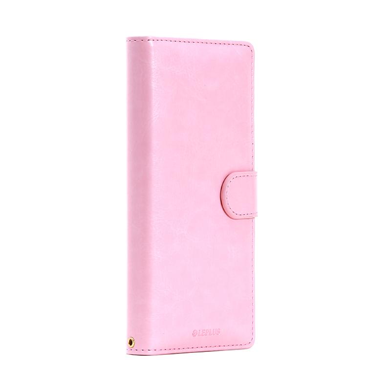 Xperia(TM) Z5 Compact SO-02H ブックタイプPUレザーケース「BOOK A」 ピンク