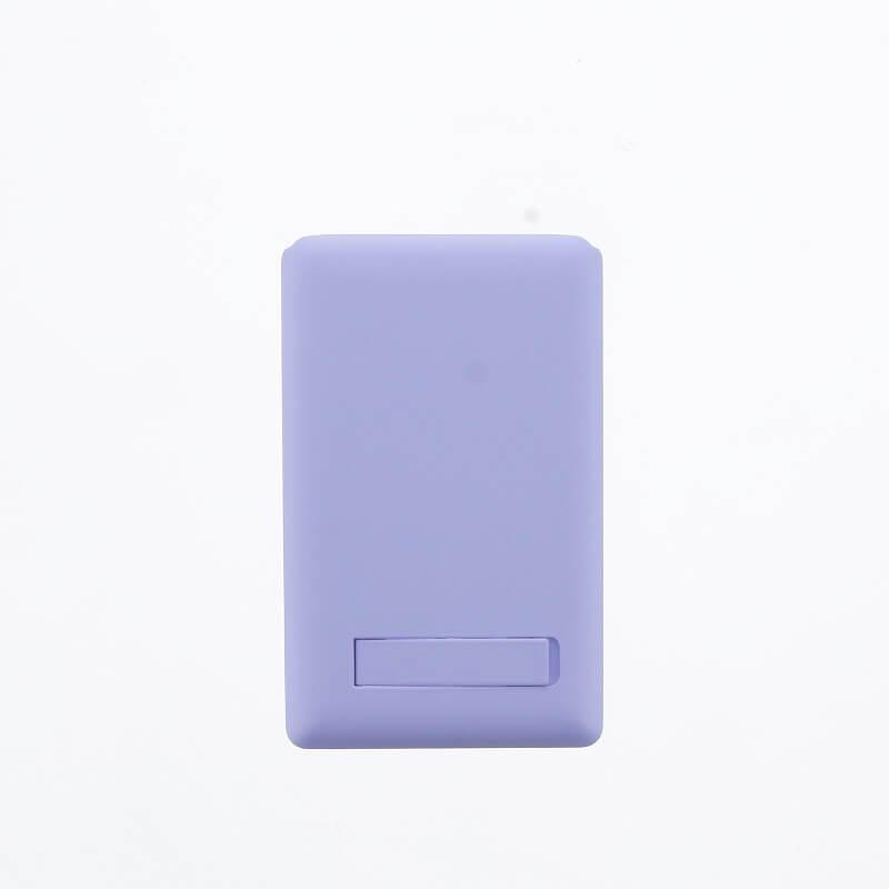 スマートフォン(汎用) 【Lucy】ミラー付きカードポケット/ライラック