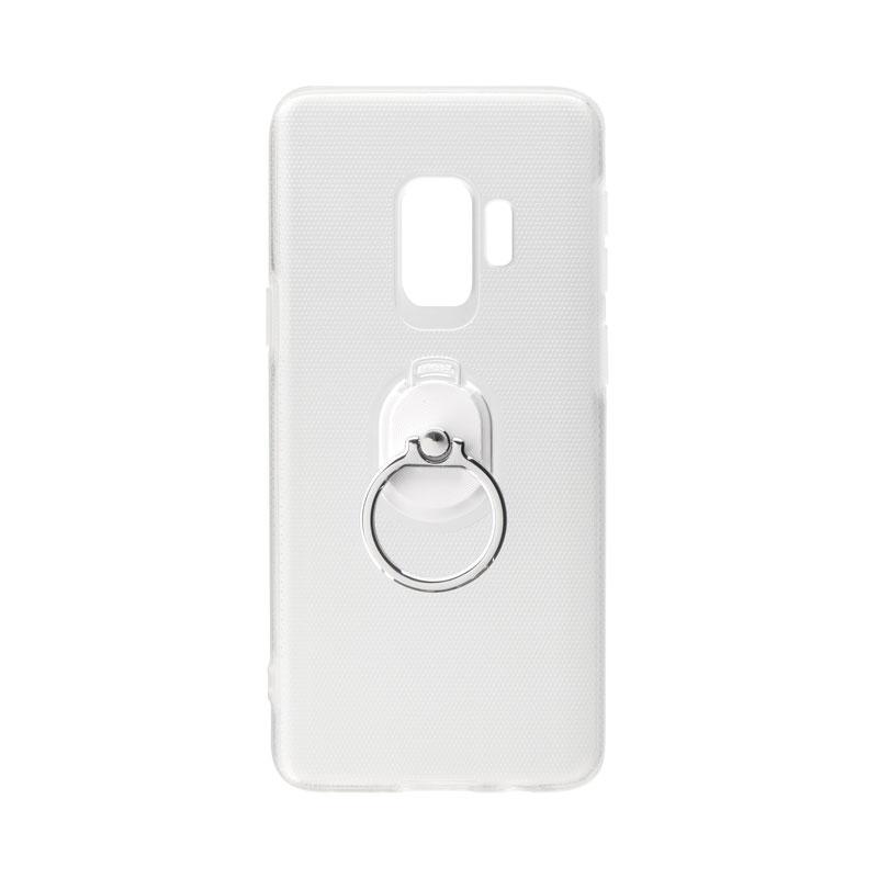 Galaxy S9 SC-02K/SCV38 ハードグリップケース「CLEAR GRIP」 クリア