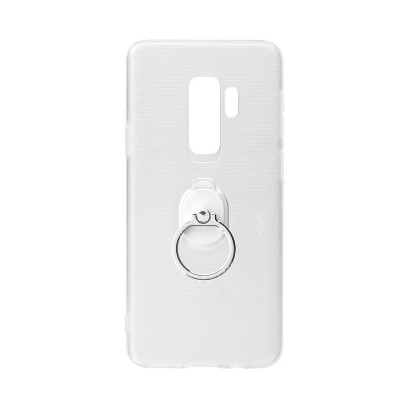 Galaxy S9+ SC-03K/SCV39 ハードグリップケース「CLEAR GRIP」 クリア