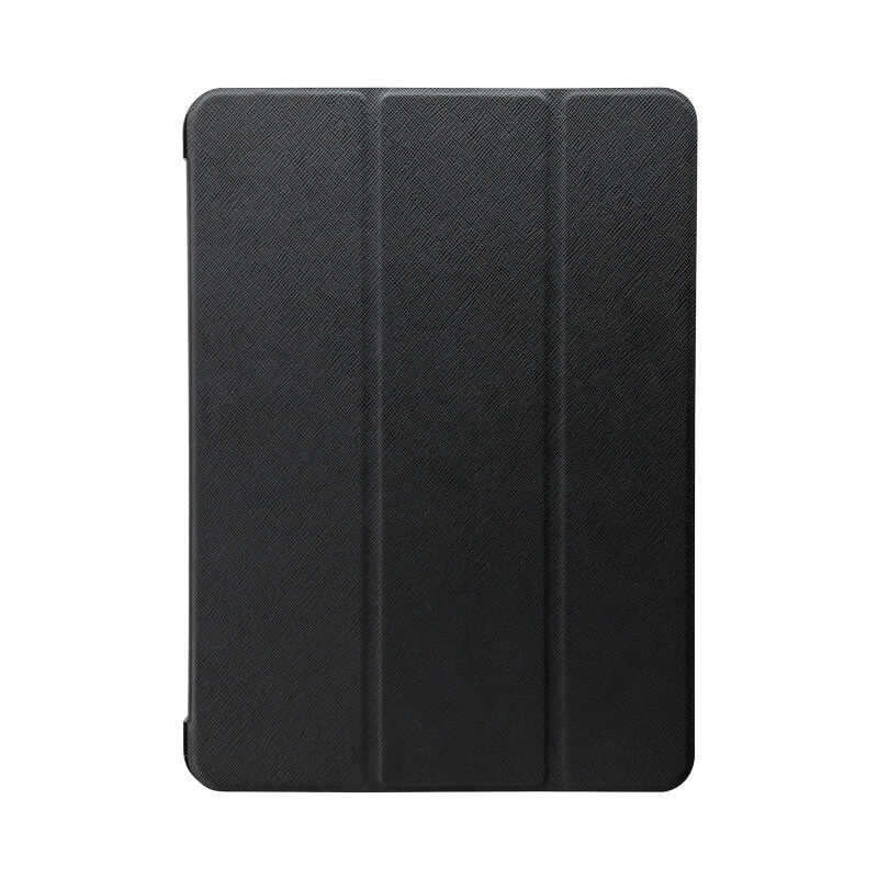 iPad Pro 2018 11inch 背面クリアフラップケース 「Clear Note」 ブラック