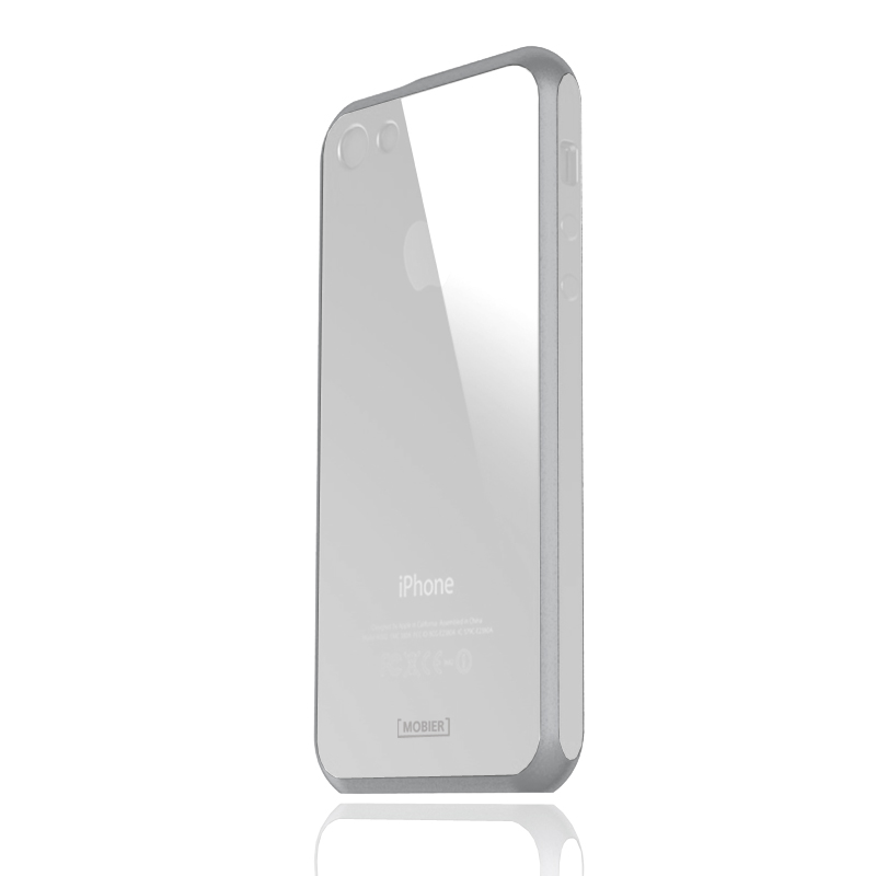 iPhone SE/5S/5 STONE ハイブリッドケース スノーホワイト