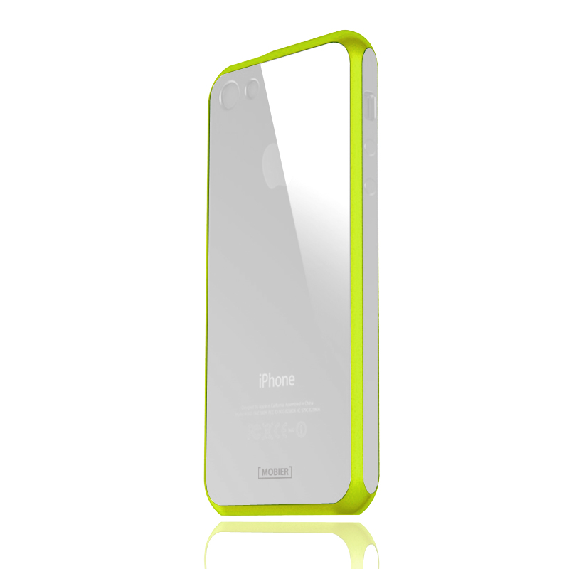 iPhone5 STONE ハイブリッドケース シトラスグリーン
