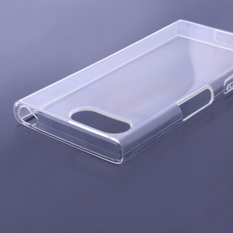 Xperia(TM) X Compact SO-02J ガラスフィルム+ソフトケース セット 「GLASS + CLEAR SOFT」 通常 0.2mm&クリア TPU