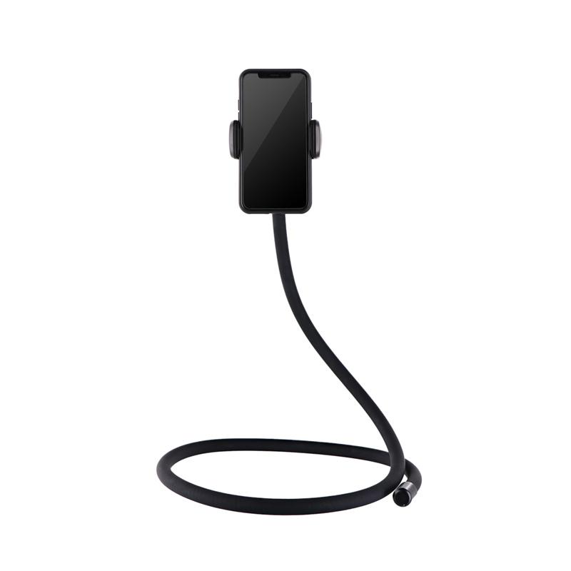 「手ぶらで使える!フレキシブルアームPRO」フレキシブル撮影補助アーム(スマートフォン/GoPro/アクションカメラ用) ブラック