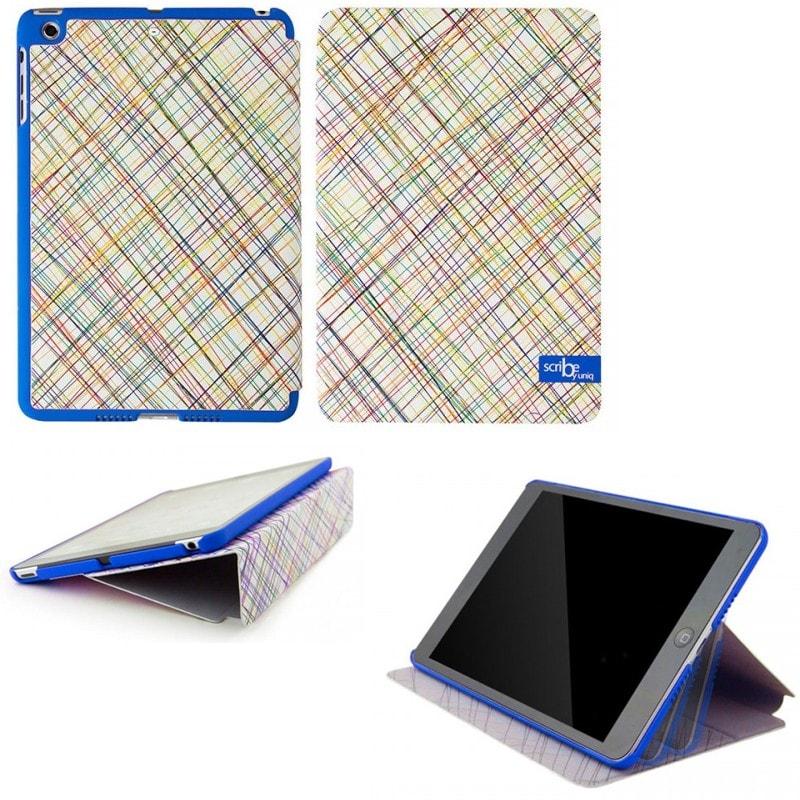 iPad Air対応/スタンドになるケース/Scribble In Blue