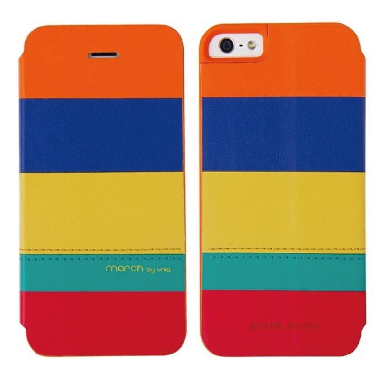 iPhone5/5S対応/スタンドににもなるケース/カード収納可能/Ethnic Infusion