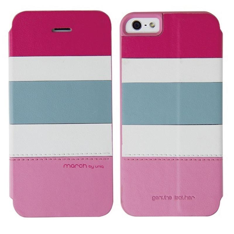 iPhone SE/5S/5対応/スタンドにもなるケース/カード収納可能/Tropic Party