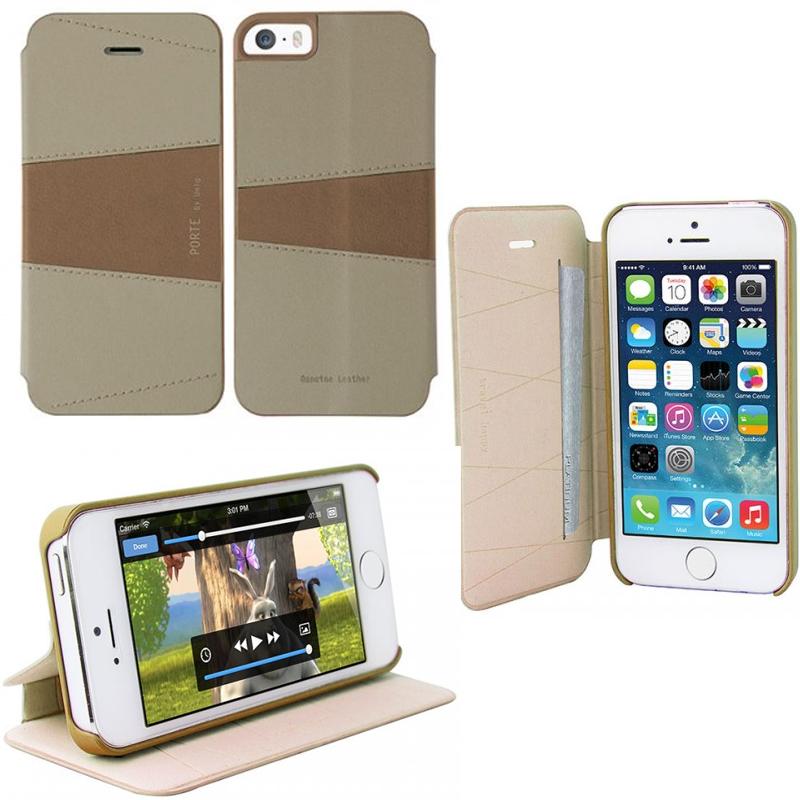 iPhone SE/5S/5対応/スタンドにもなるケース/カード収納可能/El Salvador