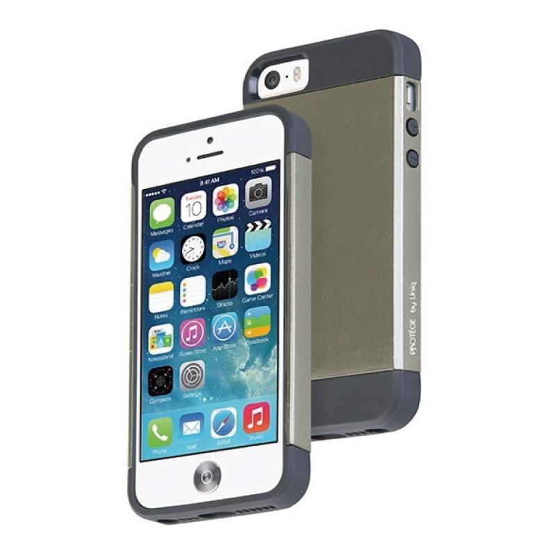 iPhone5/5S対応/ハイブリットケース/Champagne