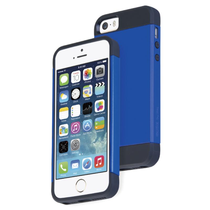 iPhone5/5S対応/Brave Blue