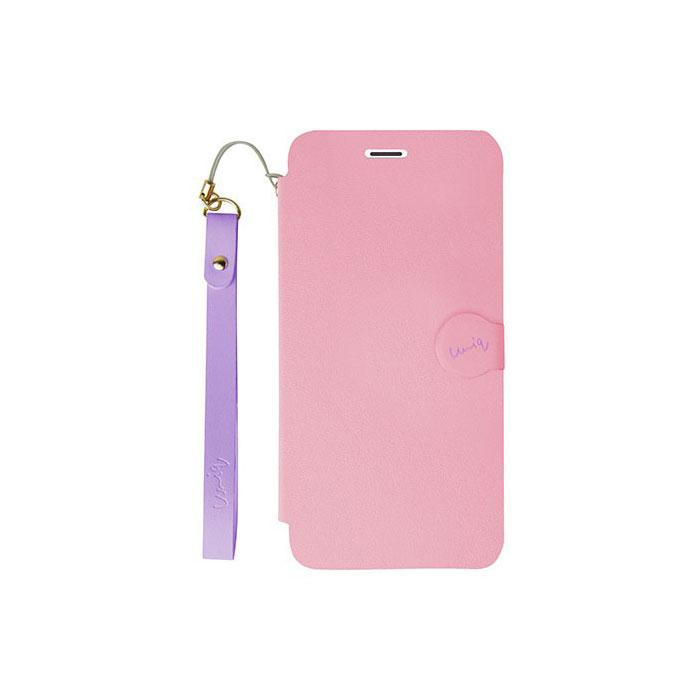 iPhone5/5S対応/スタンドににもなるケース/カード収納可能/Lolly Pop