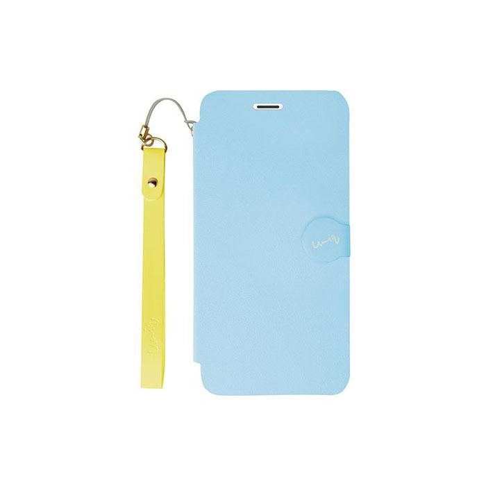 iPhone5/5S対応/スタンドにもなるケース/カード収納可能/Sky Candy
