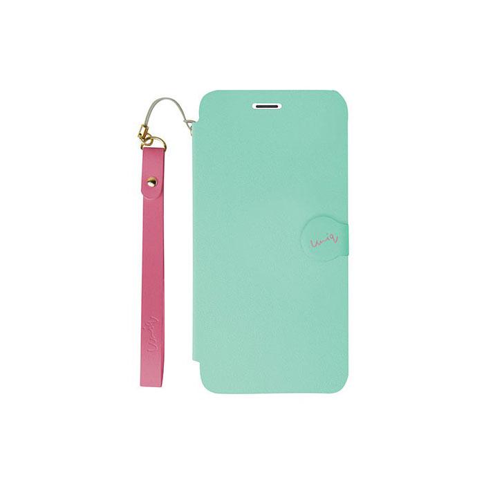 iPhone5/5S対応/スタンドににもなるケース/カード収納可能/Mermaid Tear