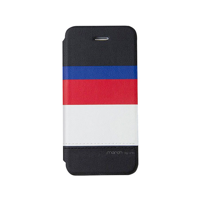 iPhone5/5S対応/スタンドににもなるケース/カード収納可能/Captain Snazzy