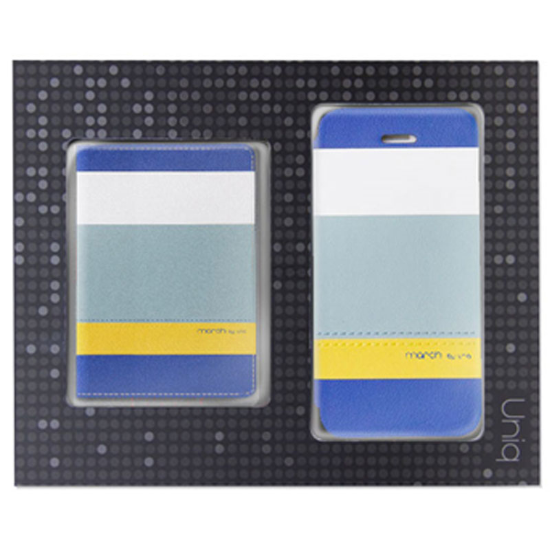 【Uniq】【Gift Pack】【March】iPhone SE/5S/5 + Name Card Holder (Sea Breeze)