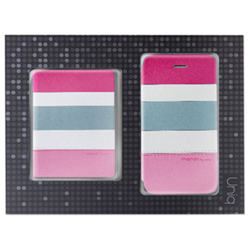 【Uniq】【Gift Pack】【March】iPhone SE/5S/5 + Name Card Holder (Tropic Party)