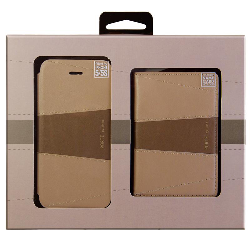 【Uniq】【Gift Pack】【PORTE】iPhone SE/5S/5 + Name Card Holder  (El Salvador)