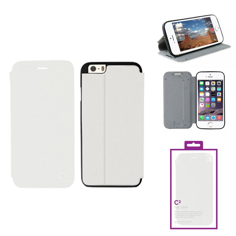 【Uniq】iPhone6_6S/C2/Innocent Purity(表面:PUレザー 合皮)(裏面:TPU)