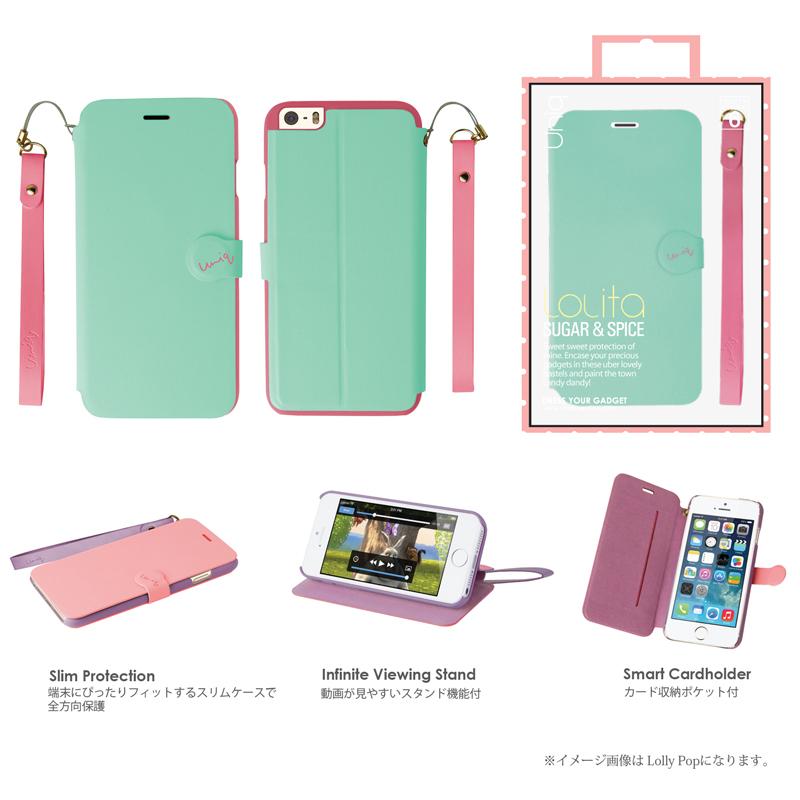【Uniq】iPhone6/Lolita/ Mermaid Tear(表面:PUレザー 合皮)(裏面:ポリカーボネート)