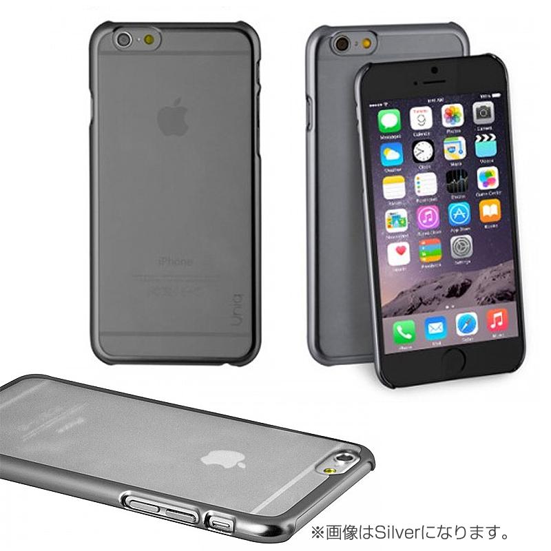 【Uniq】Hybrid/iPhone 6Plus/Glacier/GunMetal(ポリカーボネート)