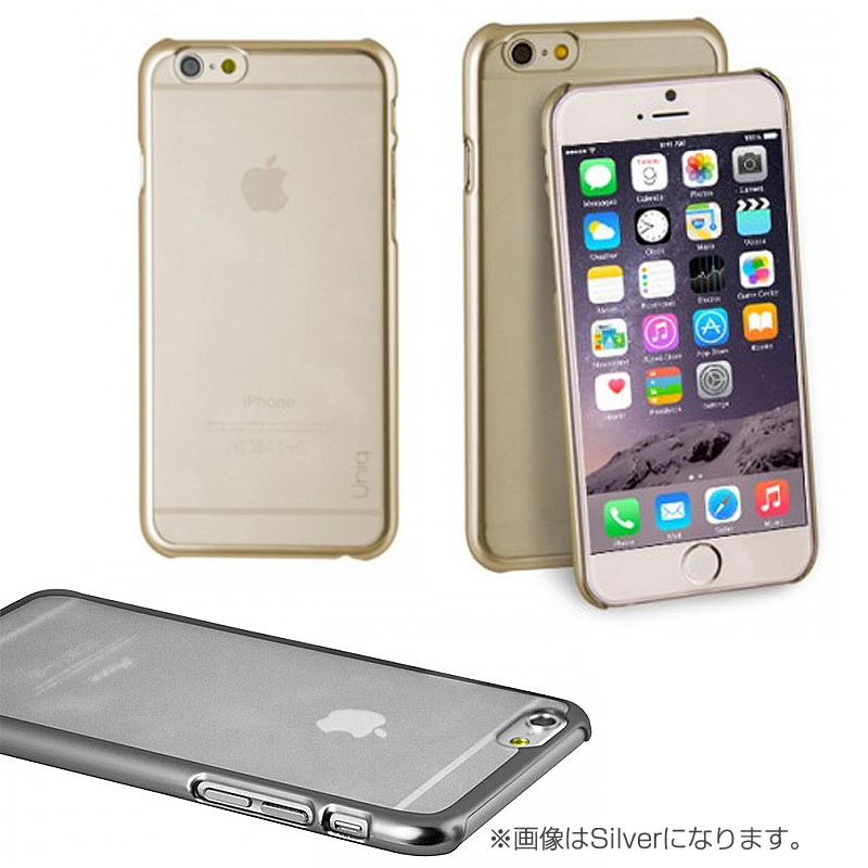 【Uniq】Hybrid/iPhone 6Plus/Glacier/Champagne Gold(ポリカーボネート)