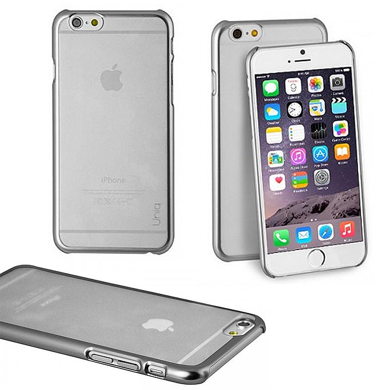 【Uniq】Hybrid/iPhone 6Plus/Glacier/Silver(ポリカーボネート)