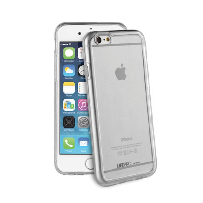 【Uniq】iPhone6Plus/6S Plus/Lifepro(ライフプロ)/端末を美しくきれいに見せるクリアTPU+PC使用/端末をしっかりガード