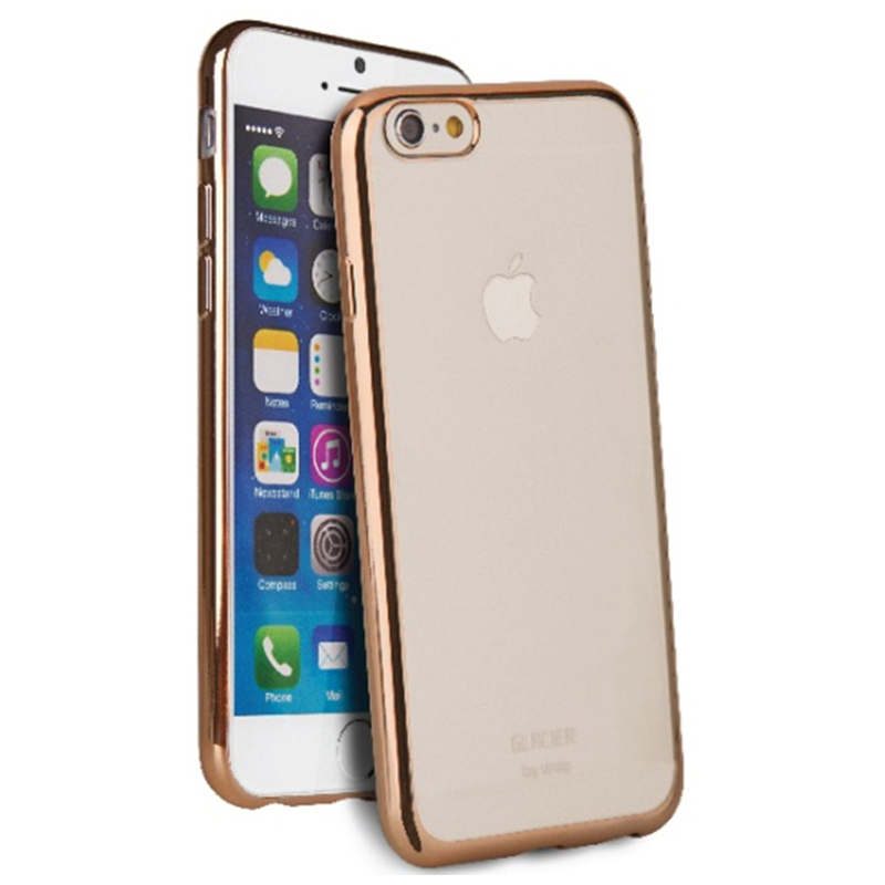 【Uniq】iPhone6Plus/6S Plus/Glacier Glitz(グレーシア グリッツ)/Rose Gold