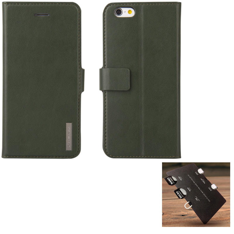 【Uniq】iPhone6Plus/6S Plus/Journa/Heritage(ジョーナ ヘリテージ)/Khaki
