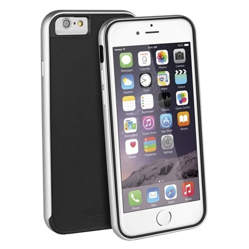 【Uniq】iPhone6S/Aircraft+ (Leather Edition)(エアークラフトプラス レザーエディション)/Classic Noir