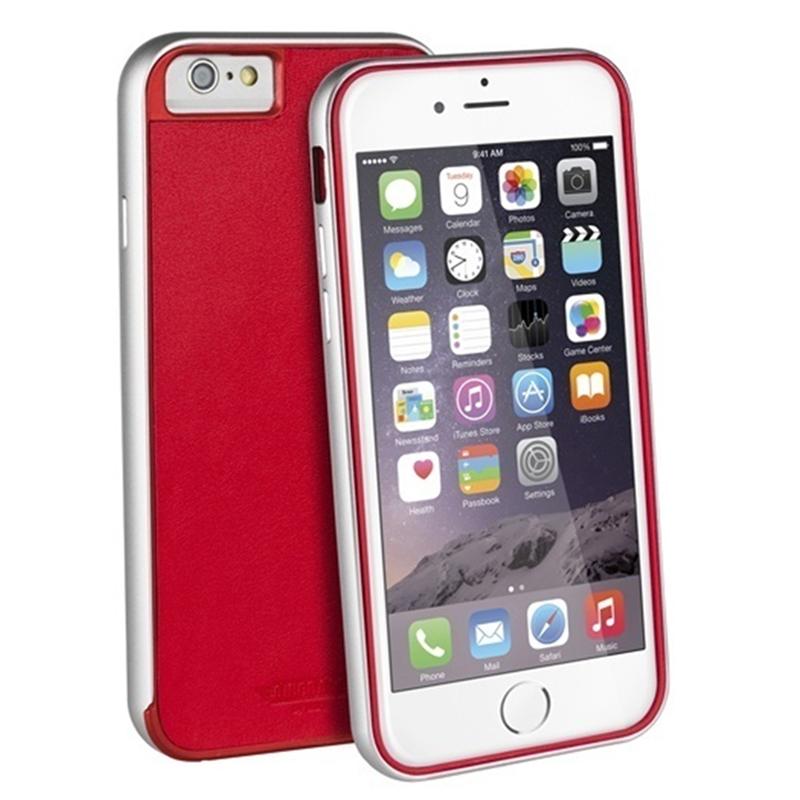 【Uniq】iPhone6S/Aircraft+ (Leather Edition)(エアークラフトプラス レザーエディション/Classic Scarlet