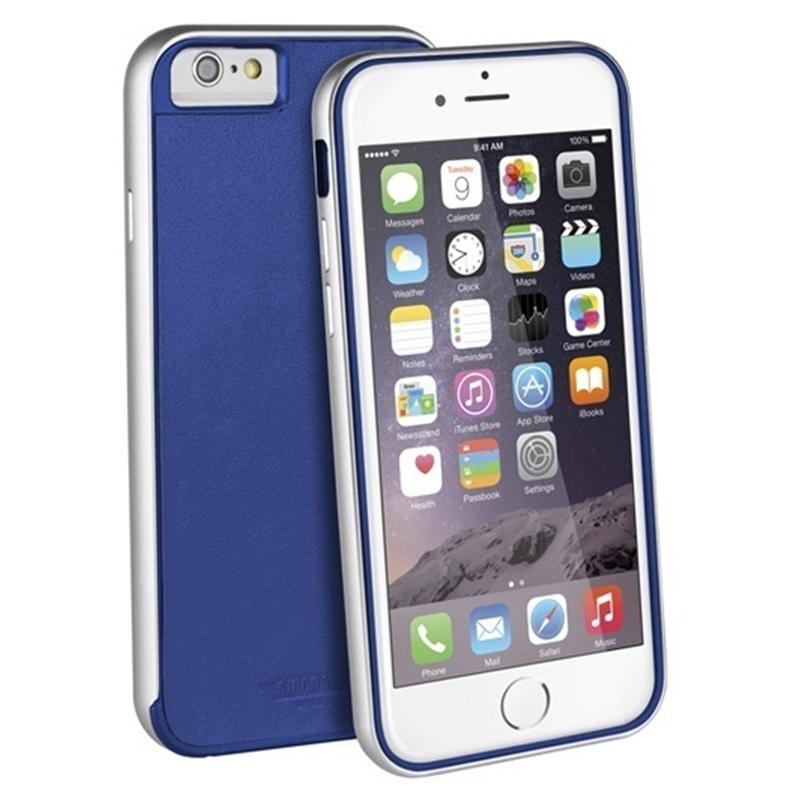 【Uniq】iPhone6S/Aircraft+ (Leather Edition)(エアークラフトプラス レザーエディション)/Classic Navy