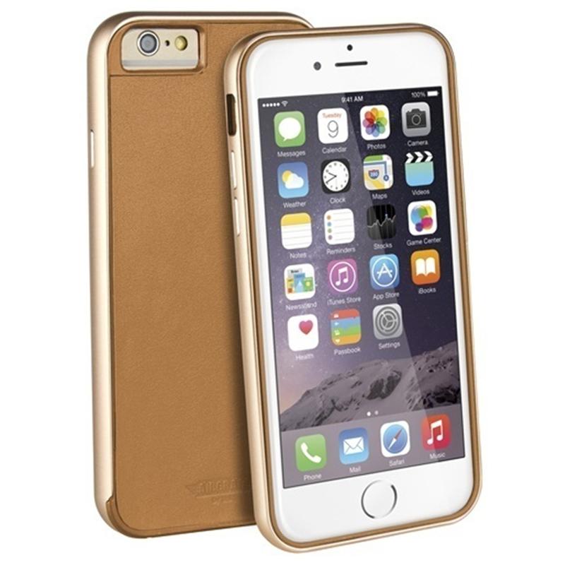 【Uniq】iPhone6S/Aircraft+ (Leather Edition)(エアークラフトプラス レザーエディション)/Classic Brun