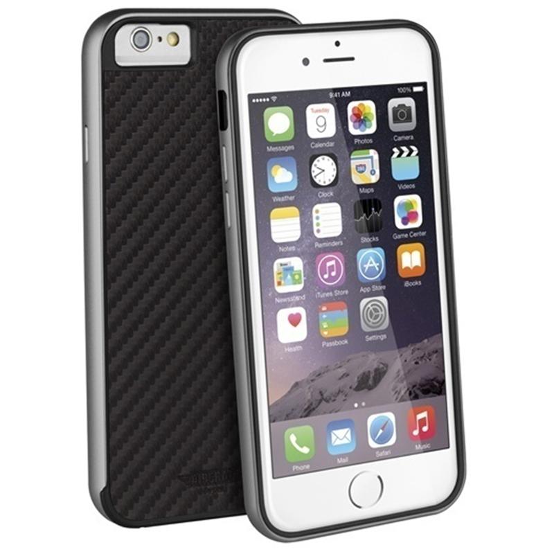 【Uniq】iPhone6S/Aircraft+ (Sports Edition)(エアークラフトプラス スポーツエディション)/Carbon Noir