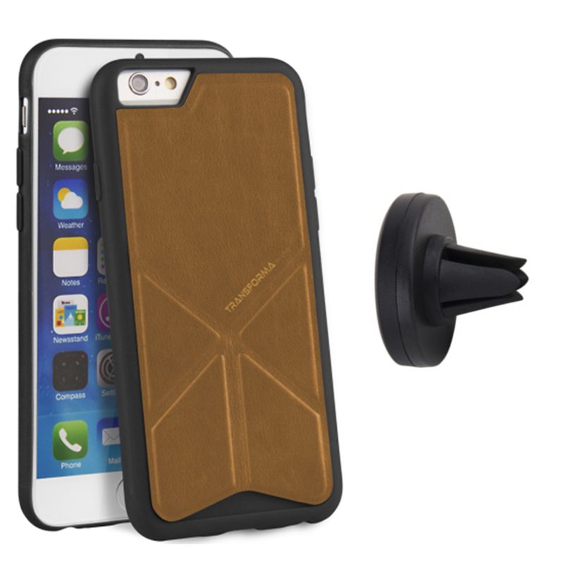 【Uniq】iPhone6Plus/6S Plus/Transforma Heritage Mountpro Vent Bundle(トランスフォーマ ヘリテージ バンドルセット)/Fawn