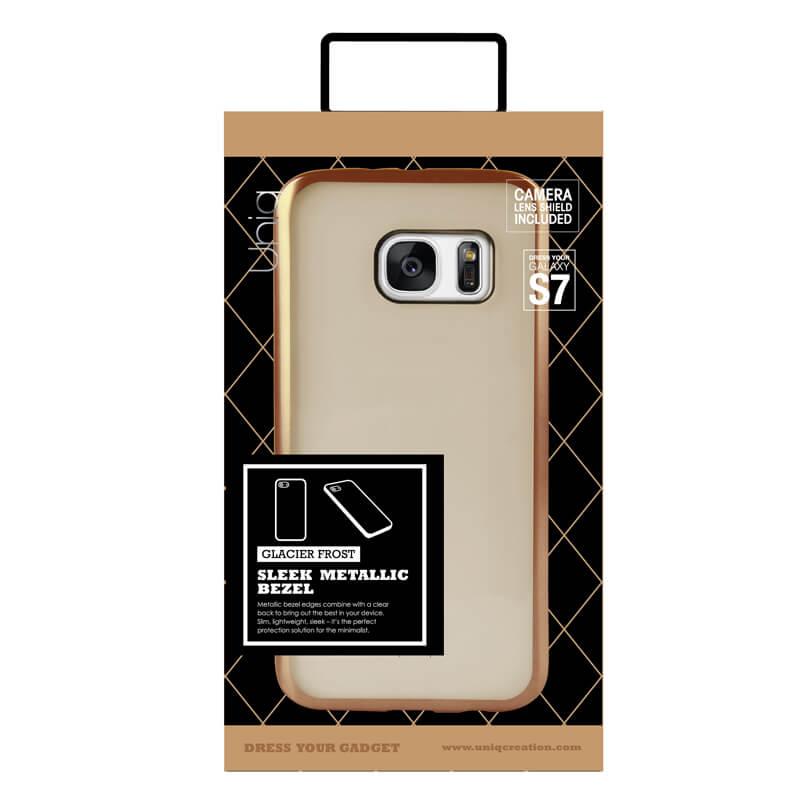 Galaxy S7 edge SC-02H/SCV33/シェル型ケース/Glacier Frost/Gold Froz