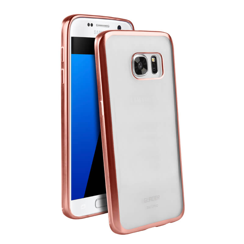Galaxy S7 edge SC-02H/SCV33/シェル型ケース/Glacier Frost/Rose Gold Froz