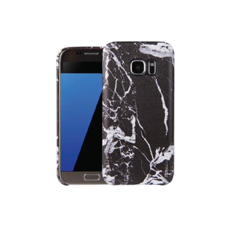 Galaxy S7 Edge/シェル型ケース/Marbre/Noir(ブラック)