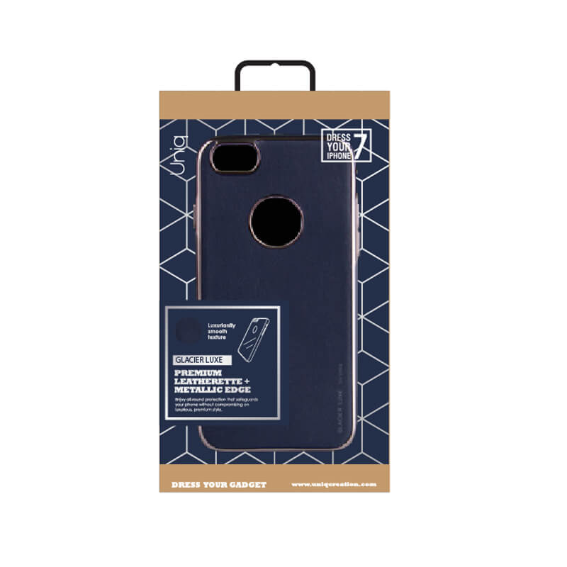 iPhone7/シェル型ケース/Glacier Luxe Heritage/Marin(ネイビー)