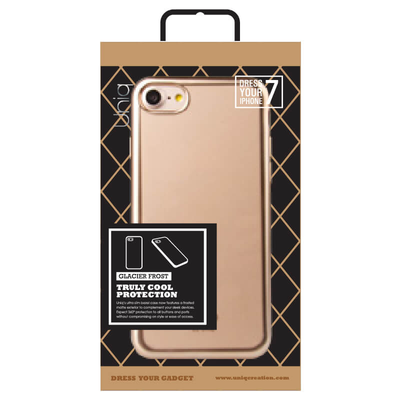 iPhone7/シェル型ケース/Glacier Frost/Gold Froz(ゴールド)