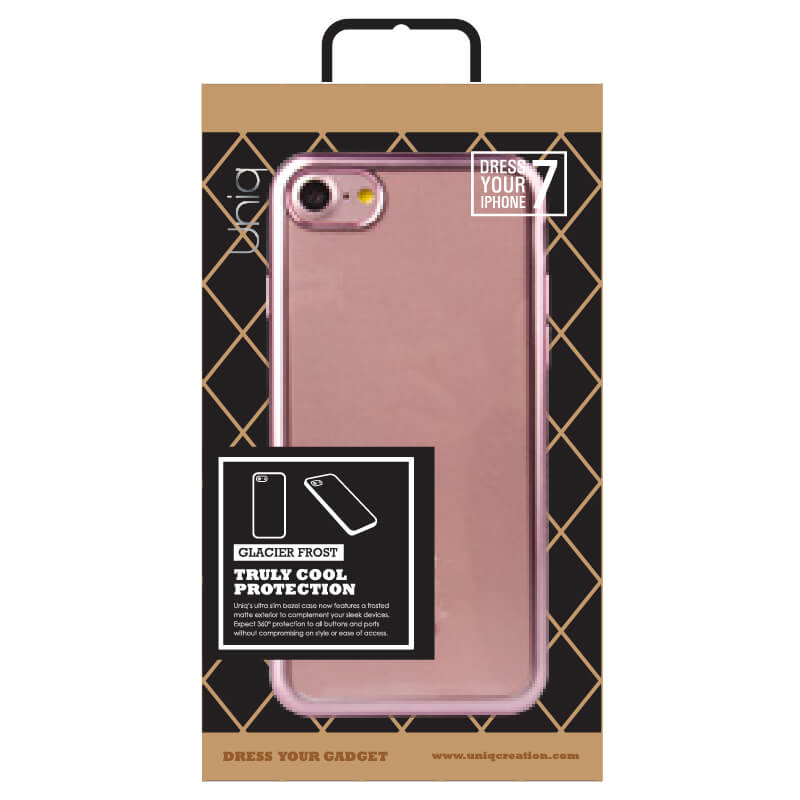 iPhone7/シェル型ケース/Glacier Frost/Rose Gold Froz(ローズゴールド)