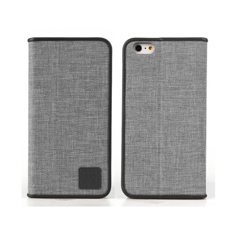 iPhone7/手帳型ケース/Trilby/Tweed(ブラック)