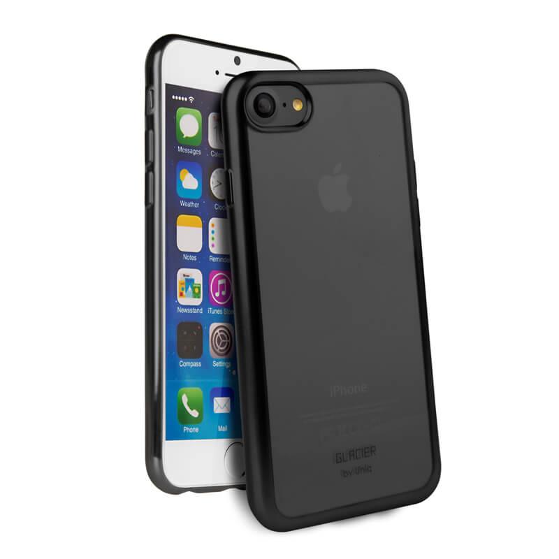 iPhone 7/シェル型ケース/Glacier Frost/Black Froz(ブラック)