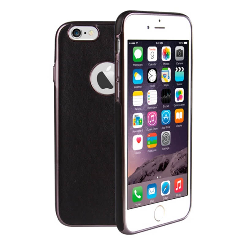 iPhone7/シェル型ケース/Glacier Luxe Heritage/Ebene(ブラック)