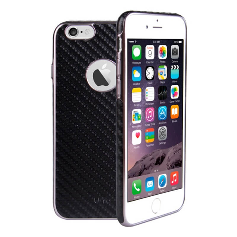 iPhone7/シェル型ケース/Glacier Luxe Heritage/Quilted Noir(カーボンブラック)