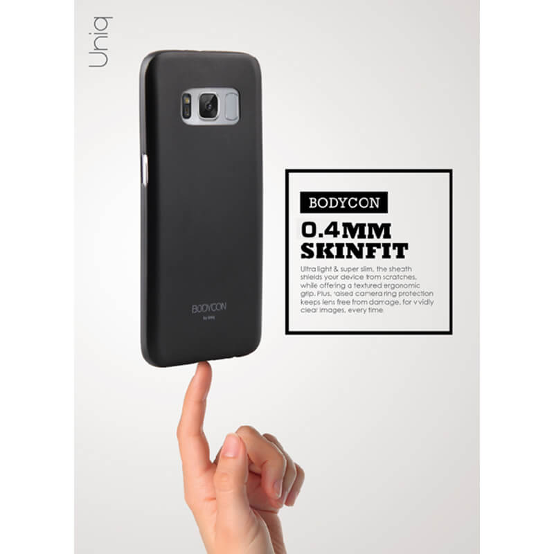 Galaxy S8 SC-02J/SCV36/シェル型ケース/ソフト/Bodycon/Dove(Translucent Clear)