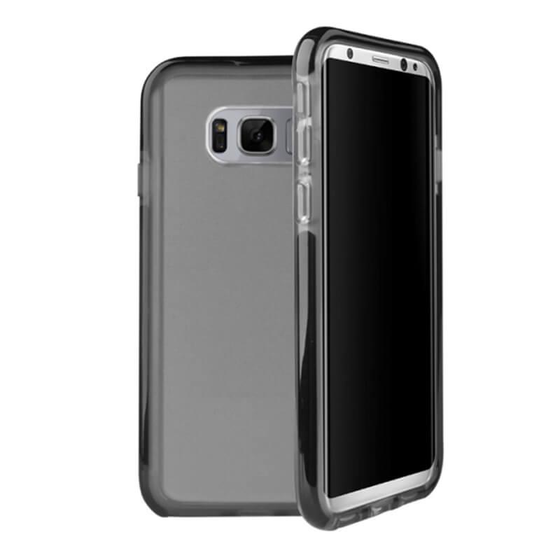 Galaxy S8 SC-02J/SCV36/シェル型ケース/ハイブリッド/Combat/Carbon(Black)