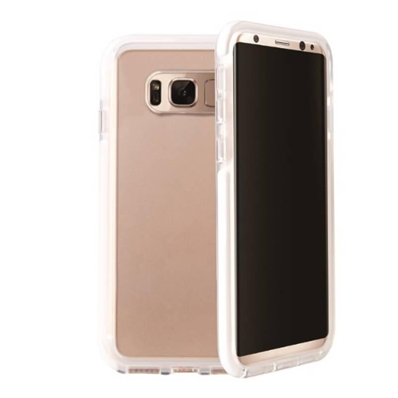 Galaxy S8 SC-02J/SCV36/シェル型ケース/ハイブリッド/Combat/Blanc(White)