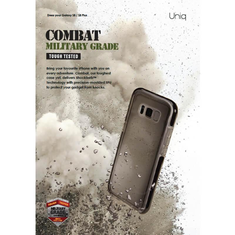 Galaxy S8+ SC-03J/SCV35/シェル型ケース/ハイブリッド/Combat/Blanc(White)